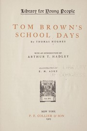 Cover of: Tom Browns  school-days