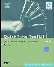 Cover of: QuickTime Toolkit Volume Two | Tim Monroe