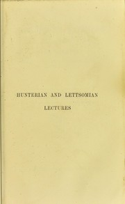 Cover of: Lectures on syphilis and on some forms of local disease : affecting principally the organs of generation