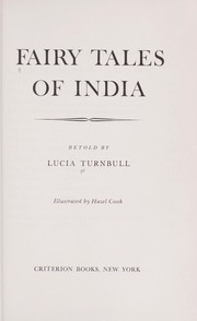Cover of: Fairy tales of India. | E. Lucia Turnbull