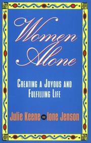 Cover of: Women alone