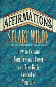 Cover of: Affirmations