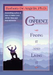 Confidence by Barbara De Angelis