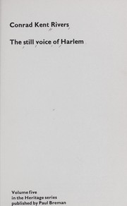 Cover of: The still voice of Harlem