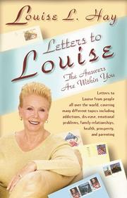 Cover of: Letters to Louise