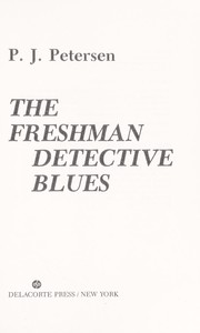 Cover of: The freshman detective blues