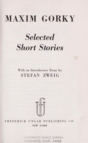 Cover of: Selected Short Stories