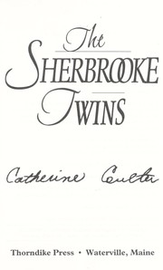 Cover of: The Sherbrooke twins [text (large print)]