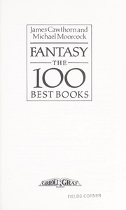 Cover of: Fantasy, the 100 best books