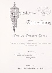 Cover of: Joint guardians