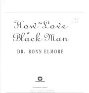 Cover of: How to love a black man
