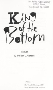 Cover of: King of the bottom | William C. Gordon