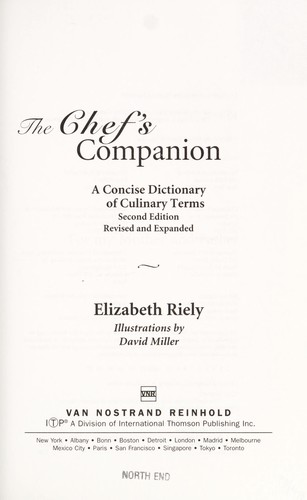 The chef's companion by Elizabeth Riely