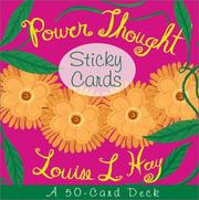Cover of: Power Thought Sticky Cards