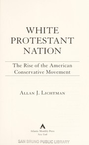 Cover of: White Protestant nation