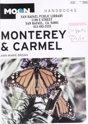 Cover of: Monterey & Carmel