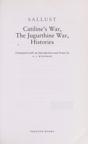 Cover of: Catiline's War, The Jugurthine War, Histories