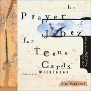 Cover of: Prayer of Jabez for Teens Cards (Card Decks for Teens)