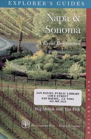 Cover of: Napa & Sonoma