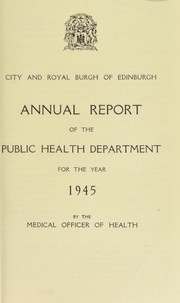 Cover of: [Report 1945]