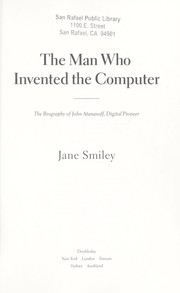 Cover of: The man who invented the computer