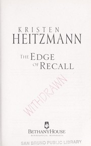 Cover of: The edge of recall