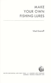 Make your own fishing lures 1975 edition open library for Create your own fish