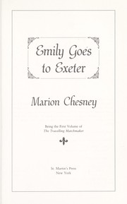 Cover of: Emily goes to Exeter