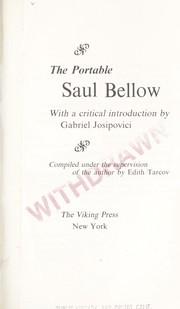 Cover of: The portable Saul Bellow