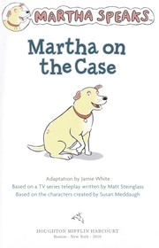 Cover of: Martha on the Case