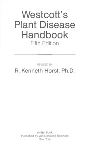 Cover of: Plant disease handbook