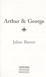 Cover of: Arthur & George