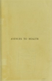 Cover of: Avenues to health