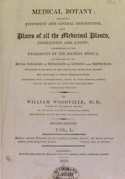 Cover of: Medical botany | William Woodville