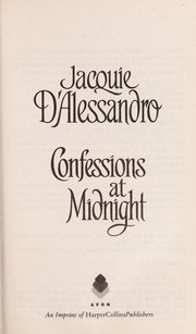 Cover of: Confessions at midnight | Jacquie D