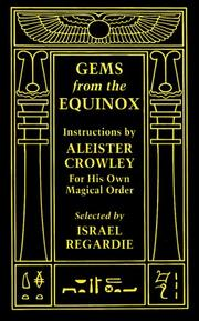 Cover of: Gems from the Equinox