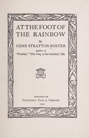 Cover of: At the foot of the rainbow