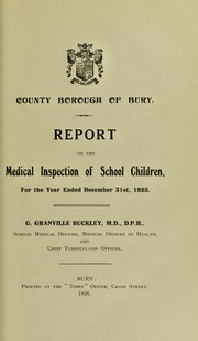 Cover of: [Report 1925]
