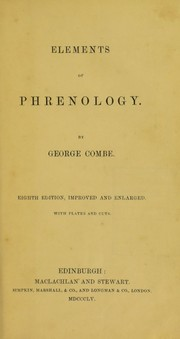 Cover of: Elements of phrenology | George Combe