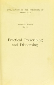 Cover of: Practical prescribing and dispensing for medical students