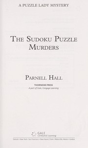 Cover of: The sudoku puzzle murders | Parnell Hall