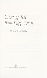 Cover of: Going for the big one