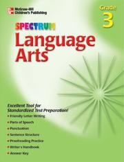 Spectrum Language Arts, Grade 3 by School Specialty Publishing