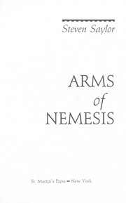 Cover of: Arms of Nemesis | Steven Saylor