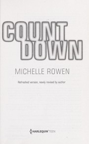 Cover of: Countdown | Michelle Rowen