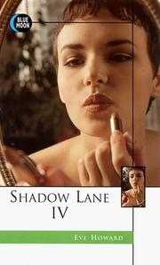 Cover of: Shadow Lane IV