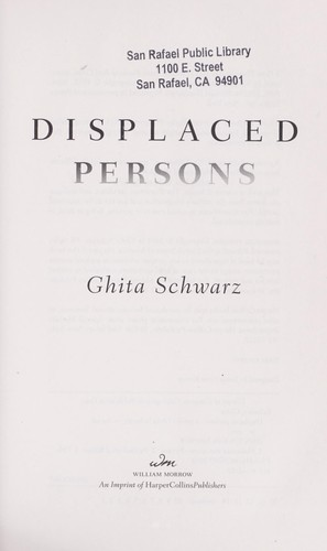 Displaced persons by Ghita Schwarz