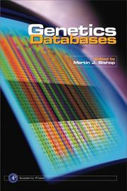 Cover of: Genetics Databases (Biological Techniques Series) | Martin J. Bishop