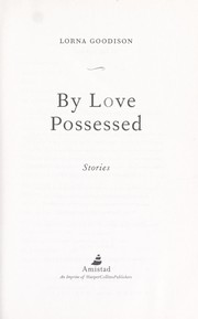 Cover of: By love possessed