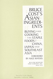 Cover of: Bruce Cost's Asian ingredients